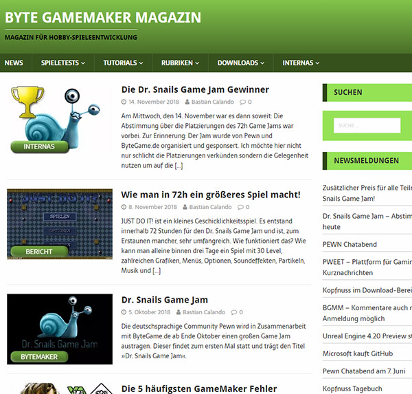 Byte GameMaker Magazin